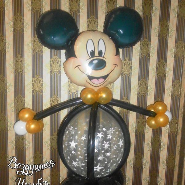 мышка мальчик из воздушных шаров