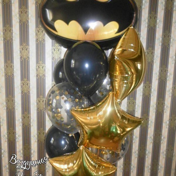 набор гелиевых шаров Бетмен